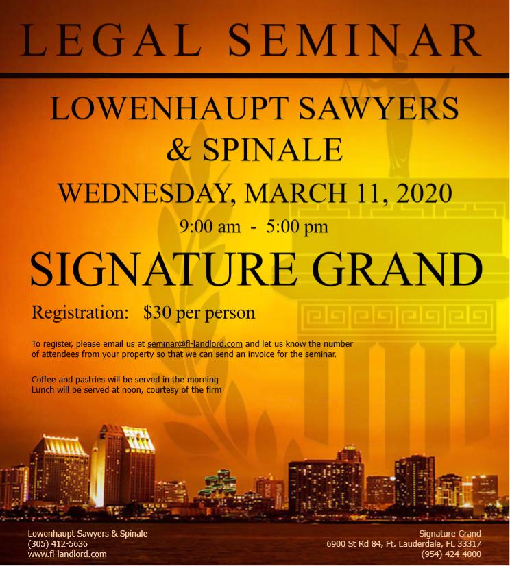 Seminar Flyer 2020
